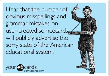 I fear that the number of 