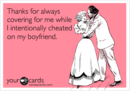 Thanks for always