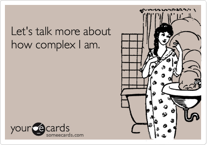 Let's talk more about 