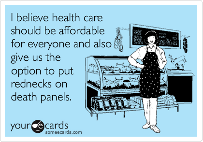 I believe health care