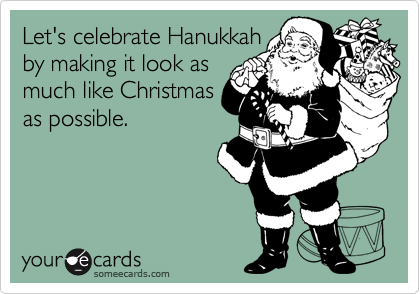 Let's celebrate Hanukkah