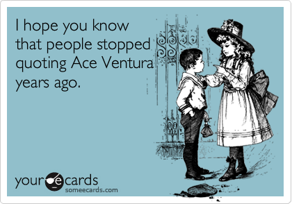 I hope you know
