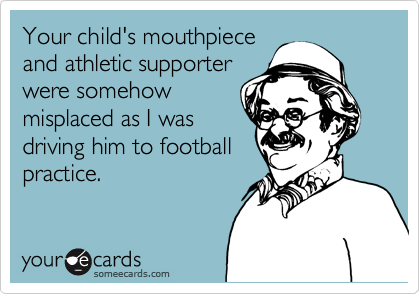 Your child's mouthpiece