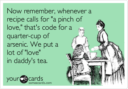 Now remember, whenever a 