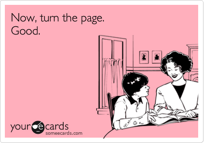 Now, turn the page. Good.