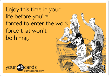 Enjoy this time in your 