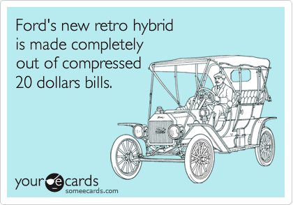 Ford's new retro hybrid