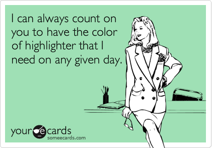 I can always count on