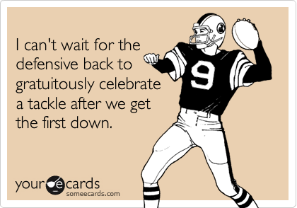 I can't wait for the