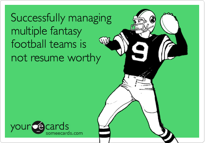 Successfully managing