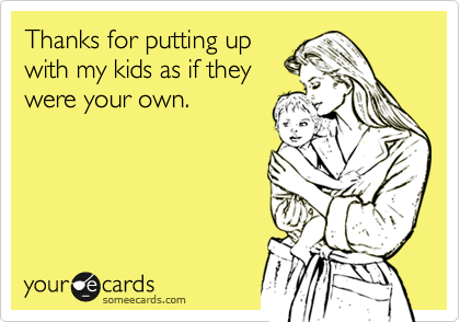 Thanks for putting up