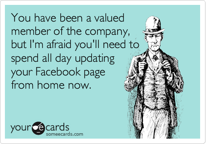 You have been a valued