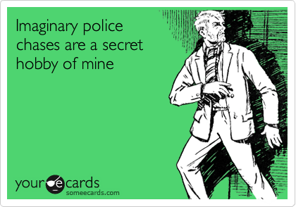 Imaginary police