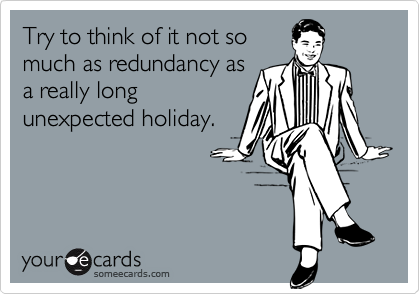 Try to think of it not so