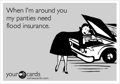 When I'm around you