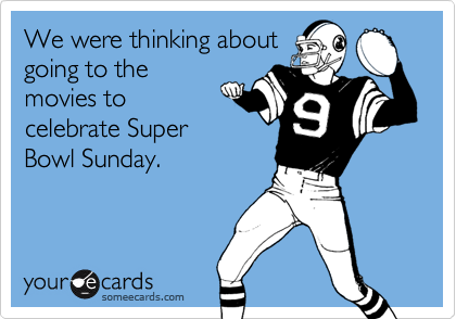 We were thinking about