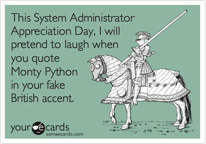 This System Administrator