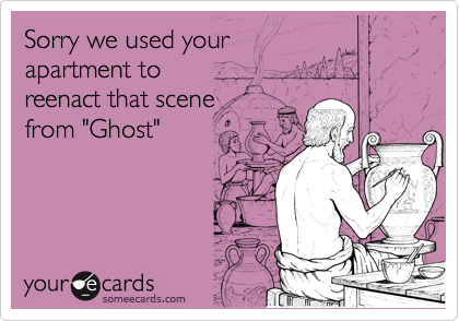 Sorry we used your