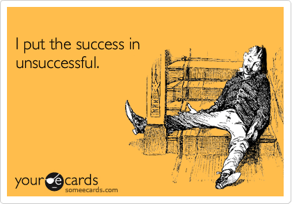 I put the success in