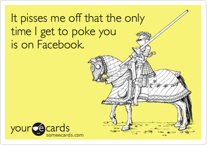 It pisses me off that the only 