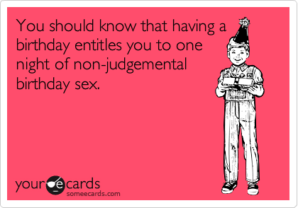 You should know that having a