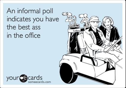 Best ass poll