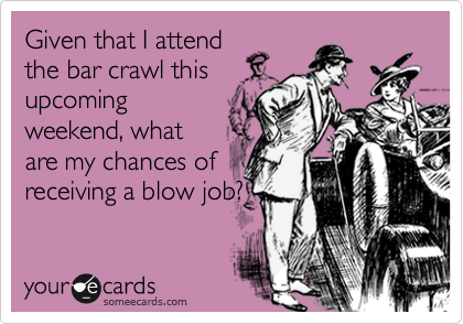 Given that I attend