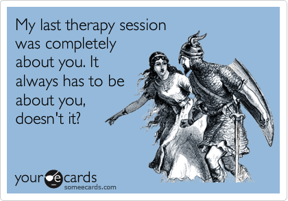 My last therapy session