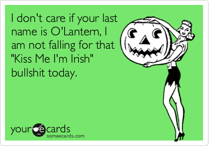 I don't care if your last