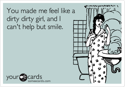 Remarkable, the you dirty girl pity, that