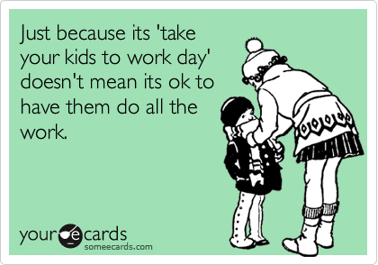 Just because its 'take