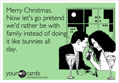 Merry Christmas. 