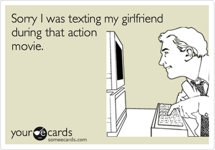 Sorry I was texting my girlfriend during that action