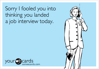Sorry I fooled you into