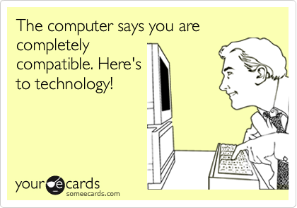 The computer says you are completely
