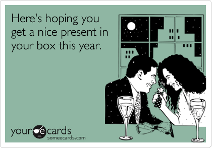 Here's hoping you