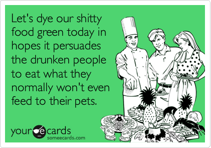 Let's dye our shitty