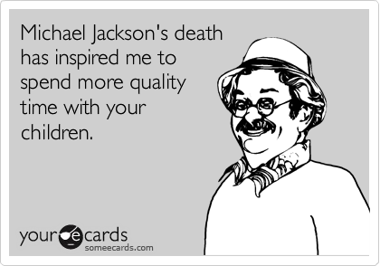 Michael Jackson's death
