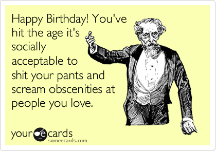 Happy Birthday! You've
