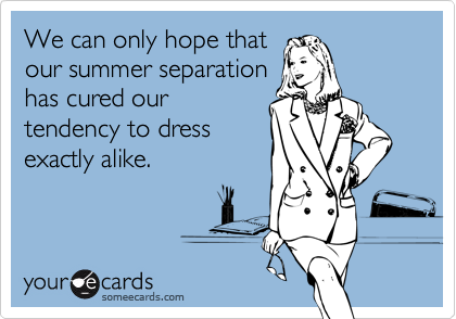We can only hope that