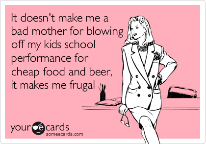 It doesn't make me a