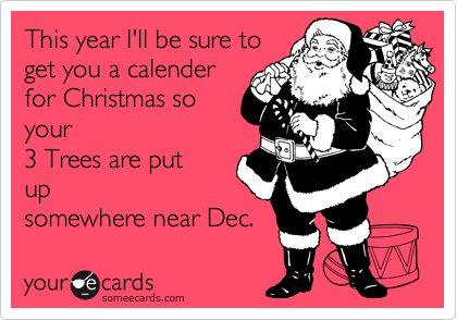 This year I'll be sure to