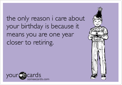 the only reason i care about