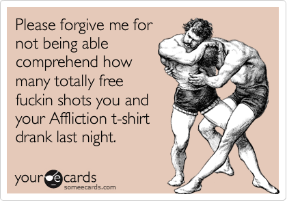 Please forgive me for