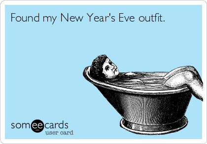 Found my New Year's Eve outfit.