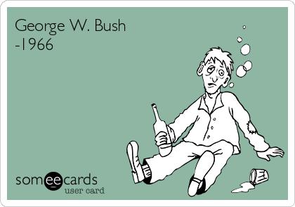 George W. Bush -1966