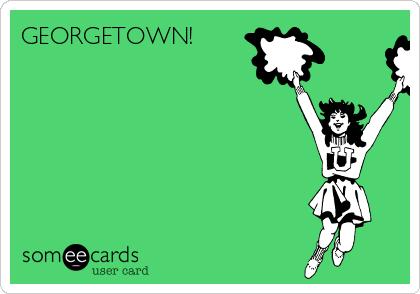 GEORGETOWN!