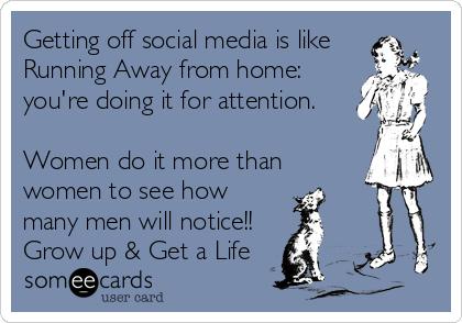 Women like attention