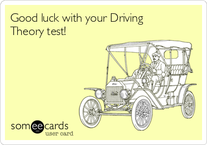 Good luck with your Driving Theory test!