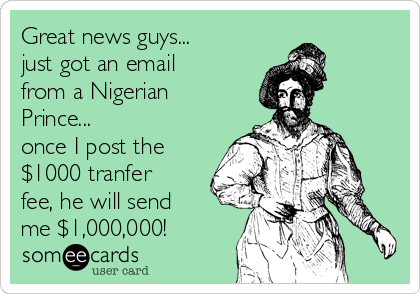Image result for nigerian prince